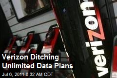 Verizon Ditching Unlimited Data Plans