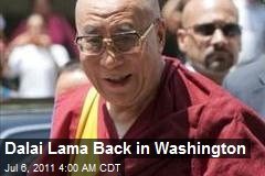 Dalai Lama Back in Washington