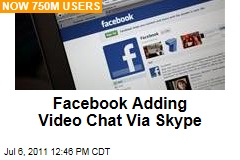 Mark Zuckerberg: Facebook Adding Video Chat to Site Via Skype