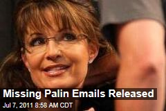 Missing Sarah Palin Emails Released by Alaska