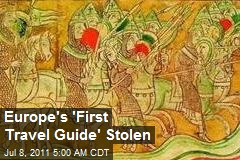 'Europe's First Travel Guide' Stolen