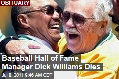 Dick Williams, Baseball Hall of Fame Manager Dies at 82