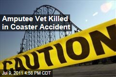 Double-Amputee Iraqi Vet James Hackemer Killed in Roller Coaster Accident at Darien Lake