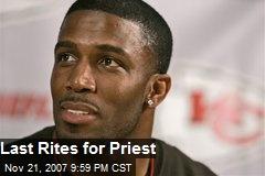 Last Rites for Priest