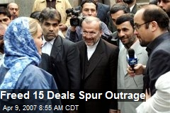 Freed 15 Deals Spur Outrage