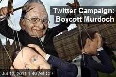 Twitter Campaign: Boycott Murdoch