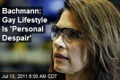 Bachmann: Gay 'Part of Satan'