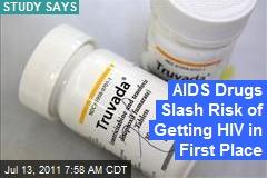 Antiretrovirals Also Block AIDS