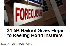 $1.5B Bailout Gives Hope to Reeling Bond Insurers