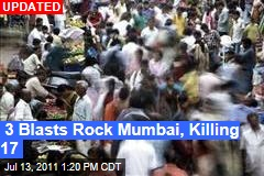 3 Blasts Rock Mumbai