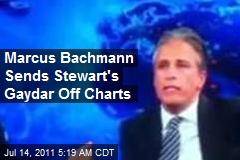 Marcus Bachmann Sends Stewart's Gaydar Off Charts