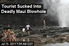Tourist Sucked Into Deadly Maui Blowhole