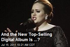 And the New Top-Selling Digital Album Is ...?