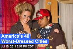 Worst Dressed Cities in America: GQ Poll