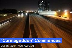 'Carmageddon' Commences