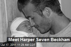 Meet Harper Seven Beckham