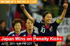 Japan Wins on Penalty Kicks