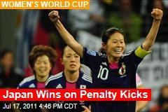 Japan Wins on Penalty Kicks