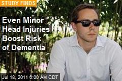 Even Minor Vet Head Injuries Boost Risk of Dementia
