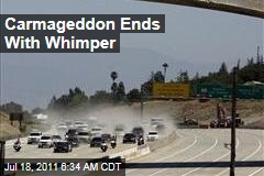 'Carmageddon' Ends Early in Los Angeles