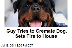 Virginia Man Sets Fire to House Trying to Cremate Dog