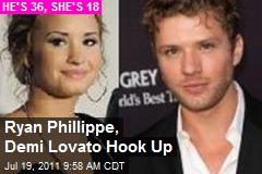 Ryan Phillippe, Demi Lovato Hook Up