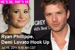 Ryan Phillippe, Demi Lovato Hook Up