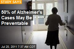 Half of All Alzheimer Cases Might Be Preventable