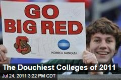 Top Ten Douchiest Colleges in America