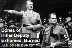Hitler's Deputy, Rudolf Hess: Bavarian Grave Exhumed, Remains Burned