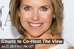 Katie Couric, 'The View': Former CBS Anchor Guest Co-Hosting August 3