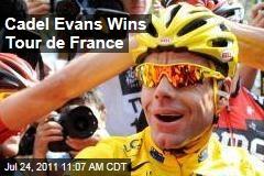 Australia's Cadel Evans Wins Tour de France