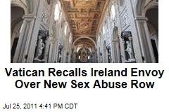 Vatican Recalls Irish Ambassador Over Abuse Allegations