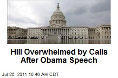 Hill Overwhelmed by Calls After Obama Speech