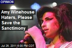Amy Winehouse Haters, Please Save the Sanctimony