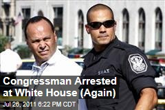 Rep. Luis Gutierrez Arrested at White House Immigration Protest for Second Time