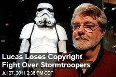 George Lucas Loses Stormtrooper Copyright Case With Helmet Designer