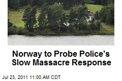 Norway to Probe Police's Slow Massacre Response