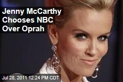 Jenny McCarthy Ditches Oprah Winfrey Network for NBC: Source