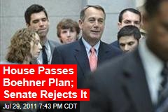 House Votes Today on Boehner's Reworked Plan