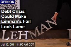 Neel Kashkari: Debt Crisis Could Make Lehman's Fail Look Lame