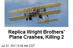 Replica Wright Brothers' Plane Crashes, Killing 2