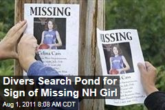 Celina Cass, Missing New Hampshire Girl: Divers Search Nearby Pond for Sign of 11-Year-Old