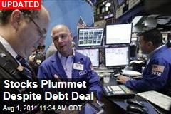 Stock Market Dips Despite Deal to Raise Debt Ceiling