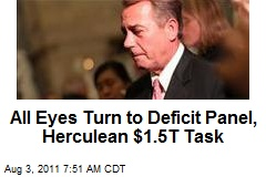 All Eyes Turn to Deficit Panel, Herculean $1.5T Task