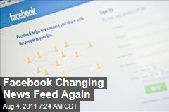 Facebook Considering Changes to News Feed, Like Button