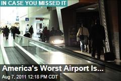 Newark International Airport the Least Punctual in America