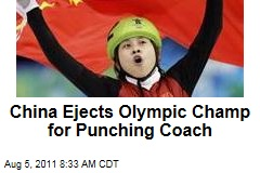 China Ejects Olympic Champ Wang Meng for Punching Coach
