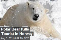 Polar Bear Kills Tourist in Norway