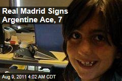 Real Madrid Signs 7-Year-old Soccer Ace Leonel Coira